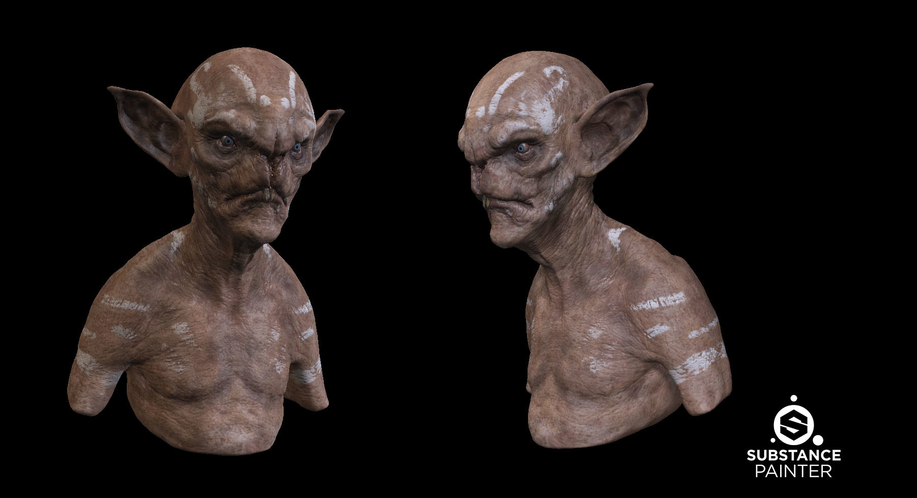 Daniel bystedt painted goblin substance painter
