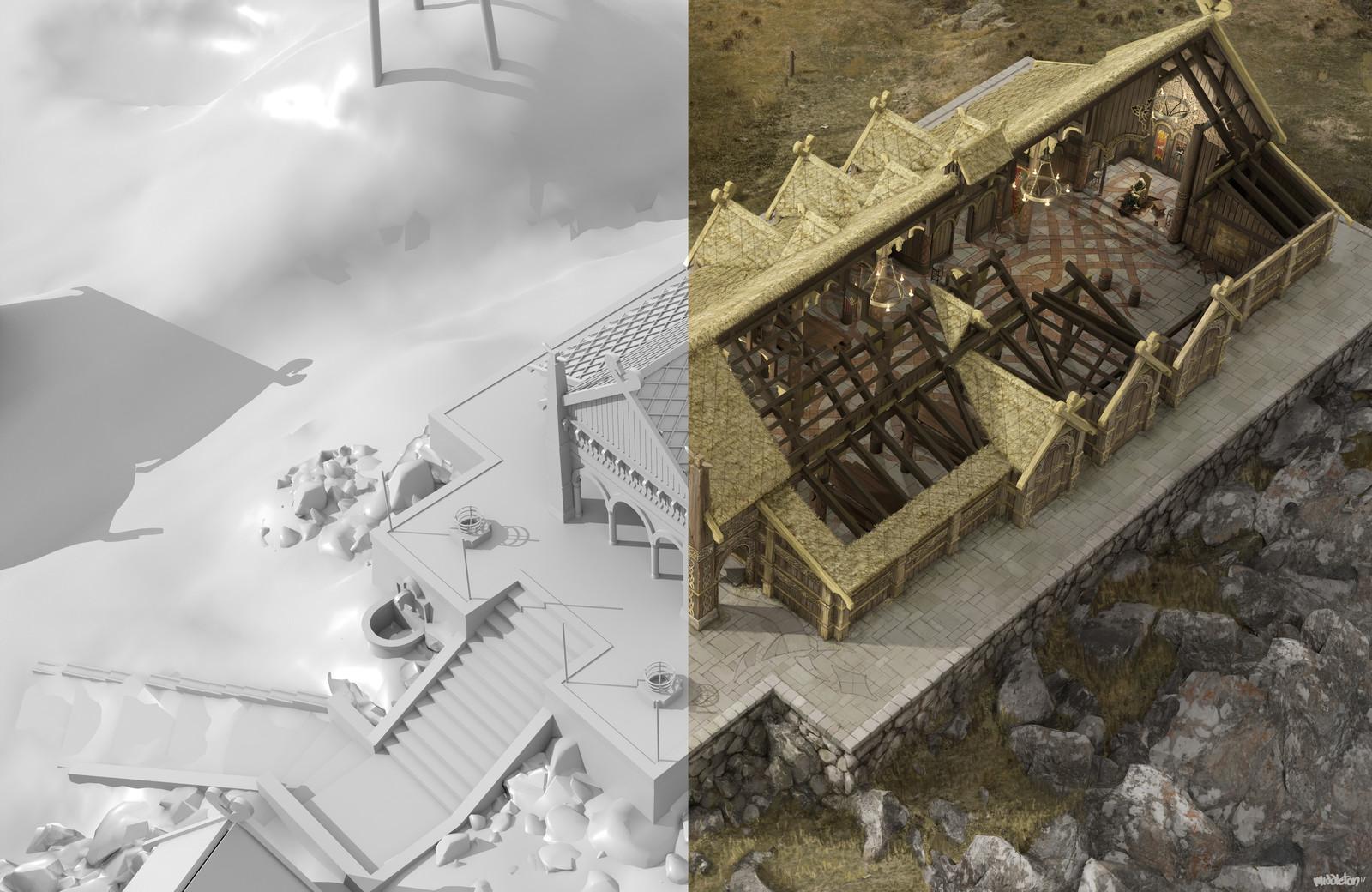 Comparison with 3D base