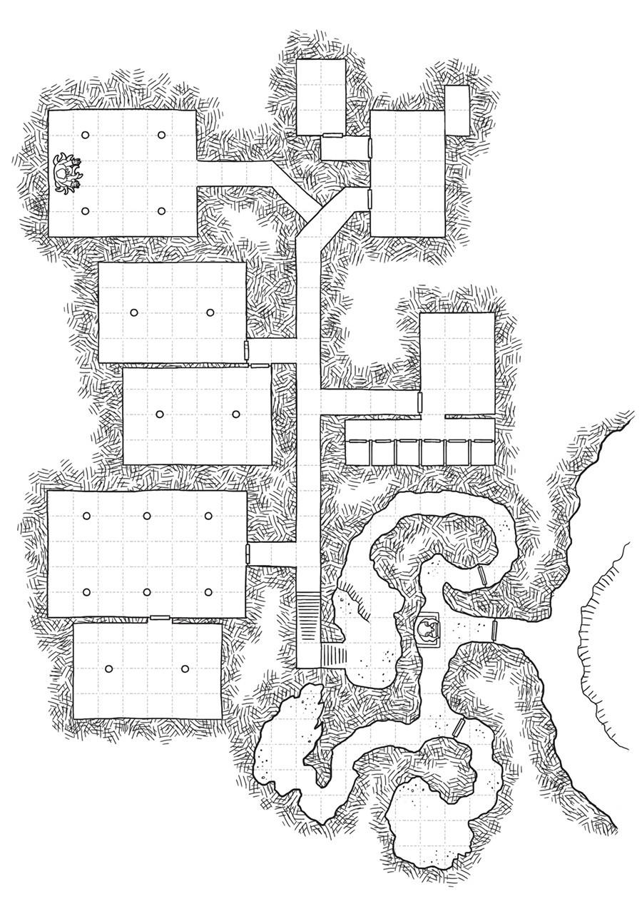 Dan ramos mapa forte 06 templo do caos