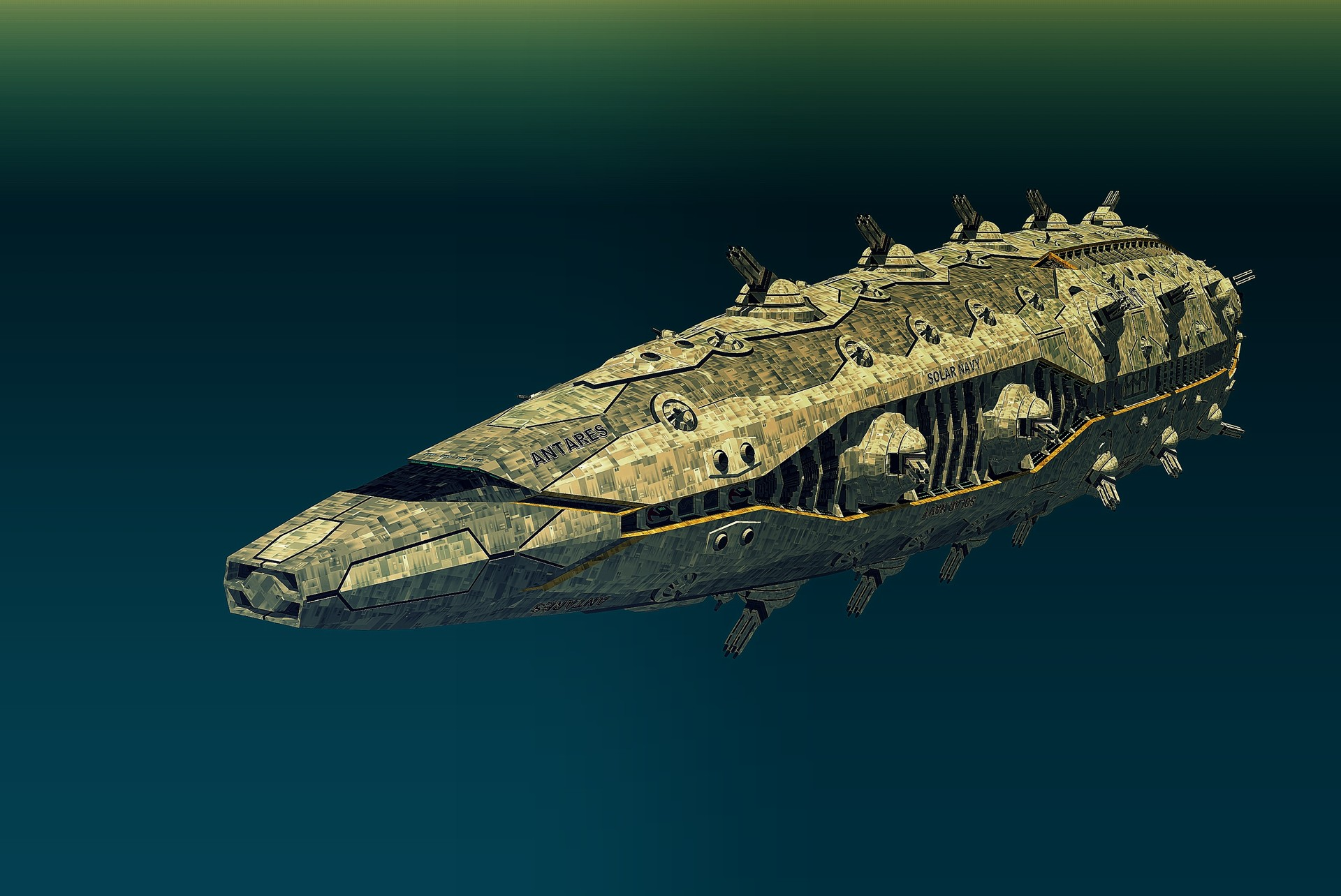 Joachim sverd antares class battlecruiser front perspective view2