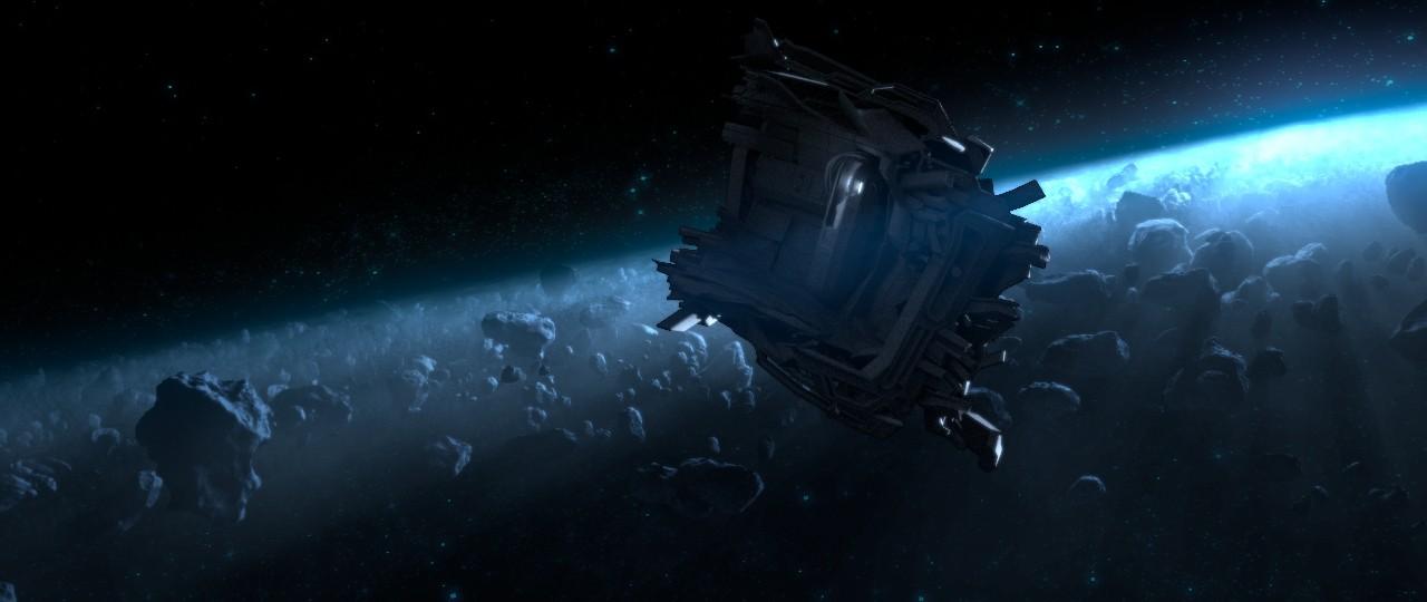 Concept render for final shot.