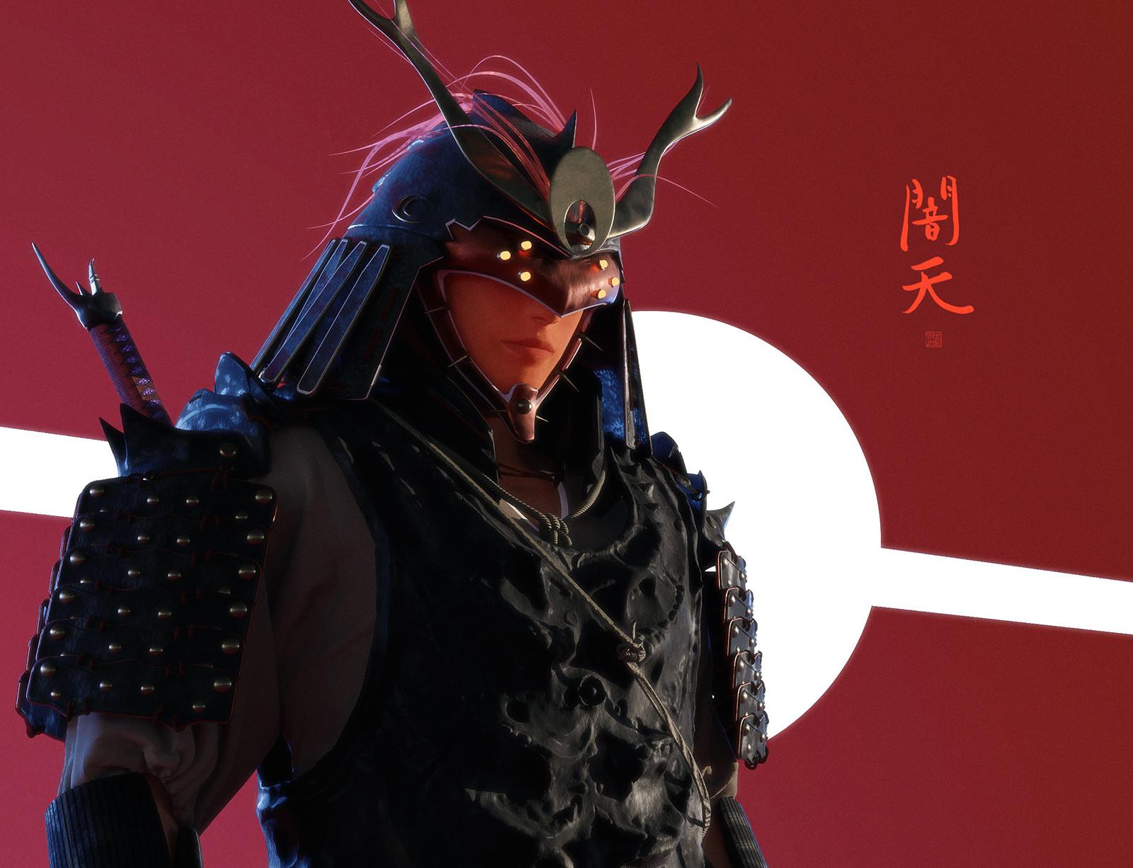 Lorenz hideyoshi ruwwe samurai portrait1 s