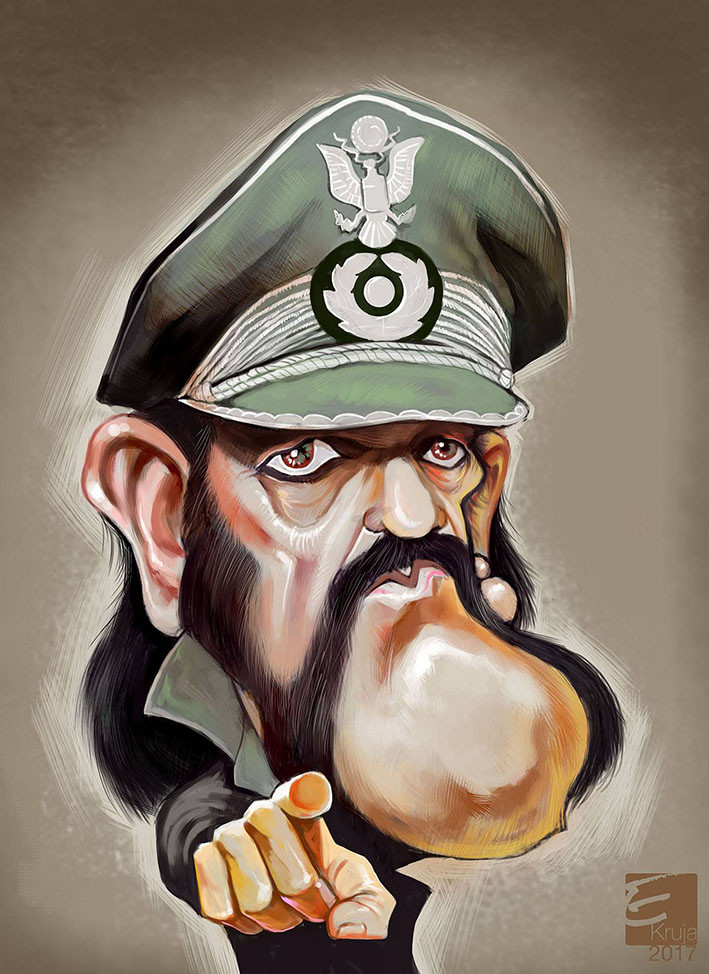 ArtStation - Digital caricatures, Elidor Kruja