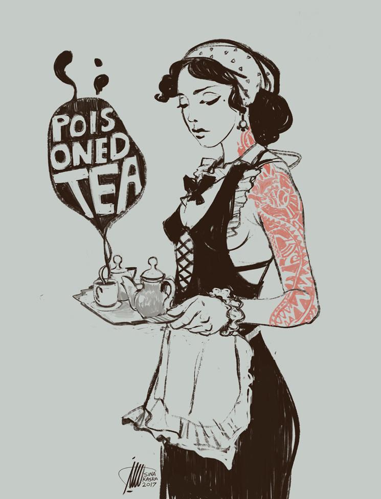 Sina pakzx kasra poisoned tea