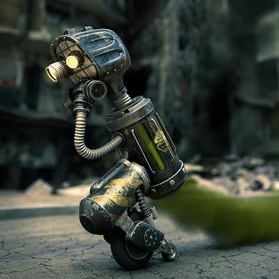 Carlos sosa toxic robot web