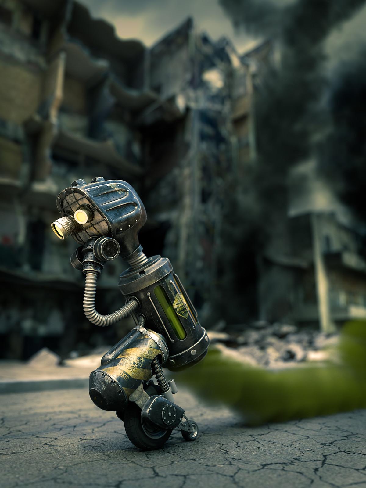 Toxic Robot
