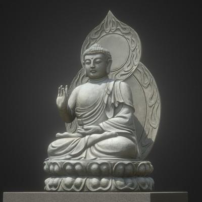 Vlx kuzmin stone bodhisattva from buddhists temple japan