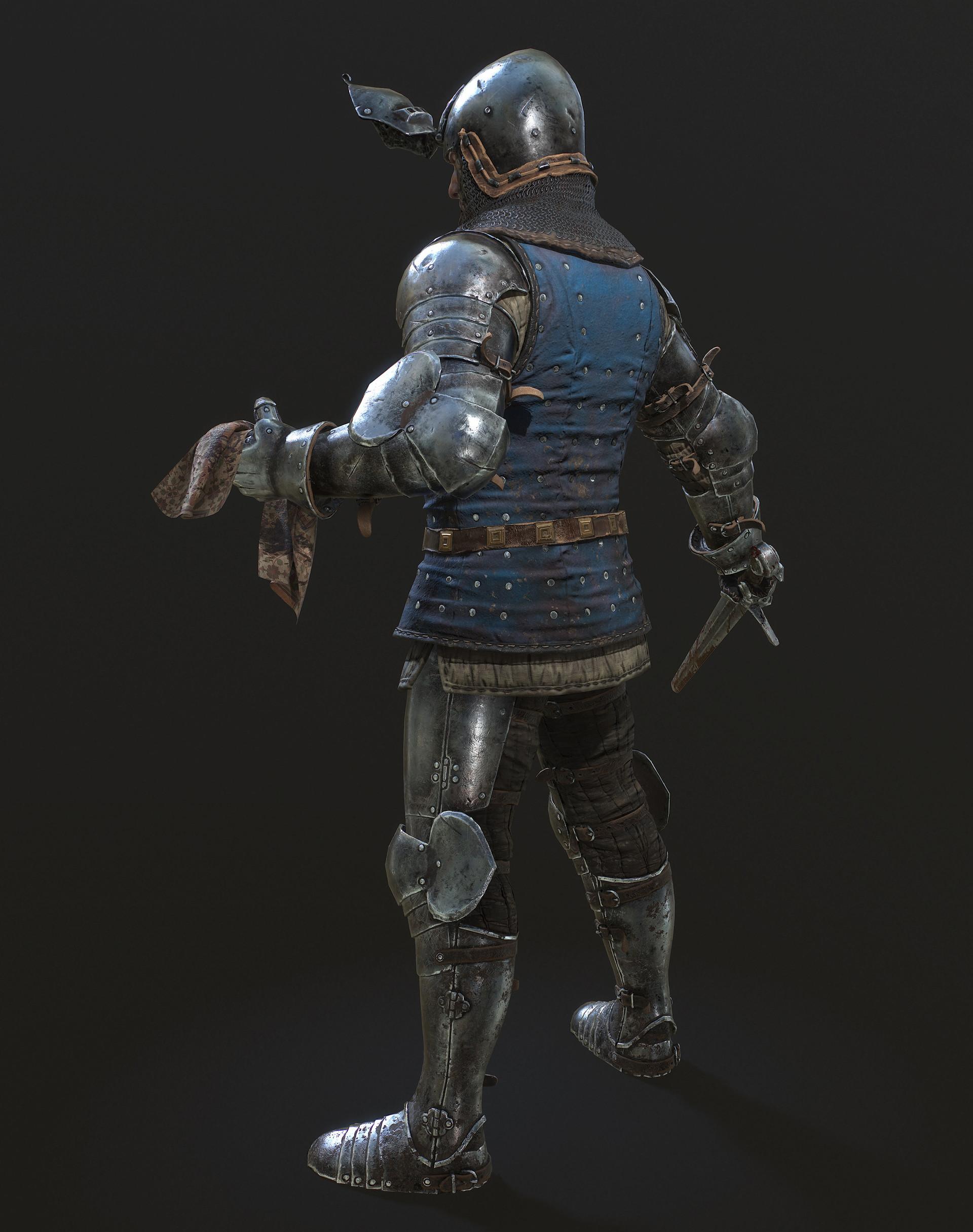 Petr sokolov artpity knight lp left