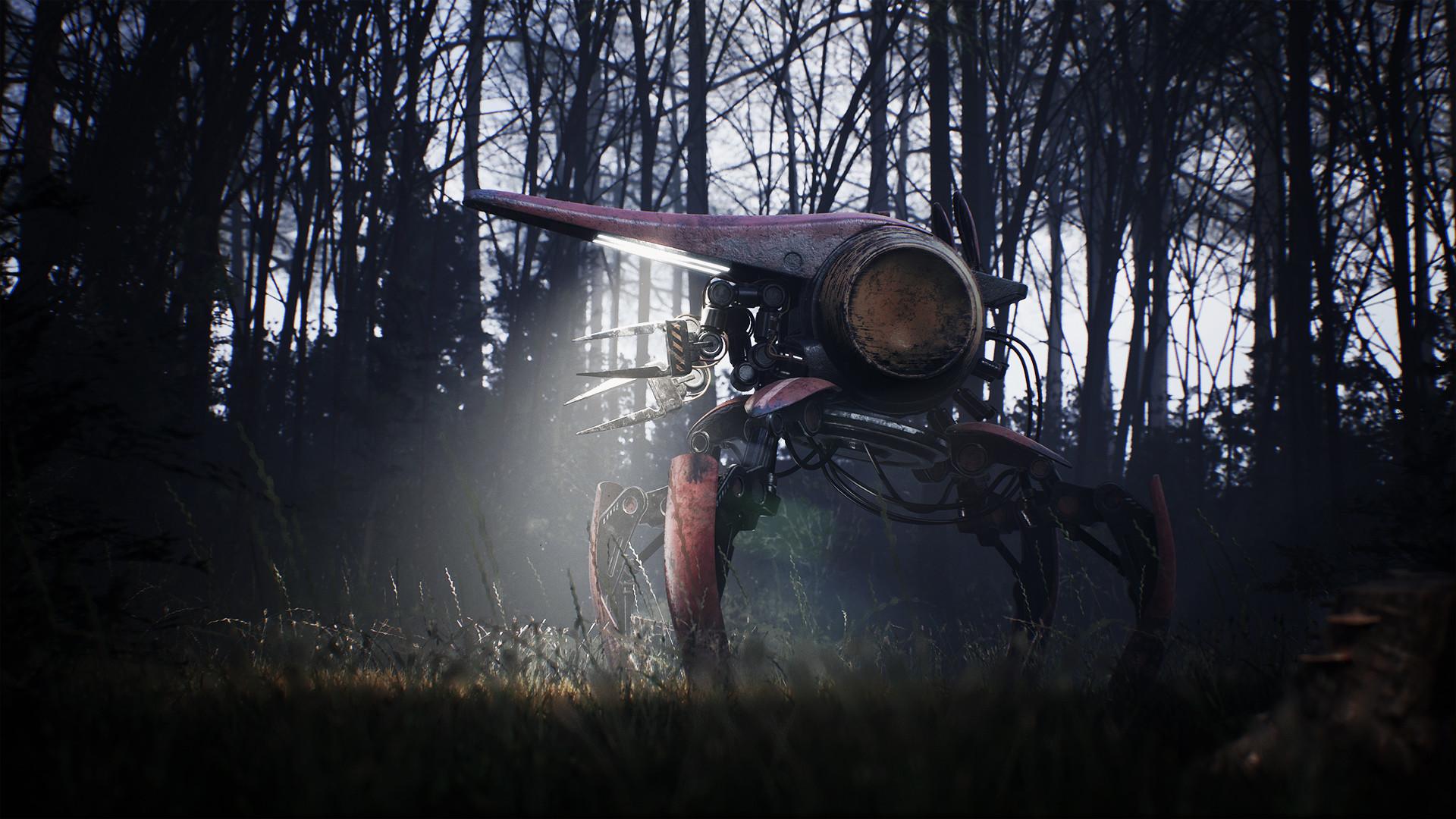 Wiktor ohman abandoned drone 1