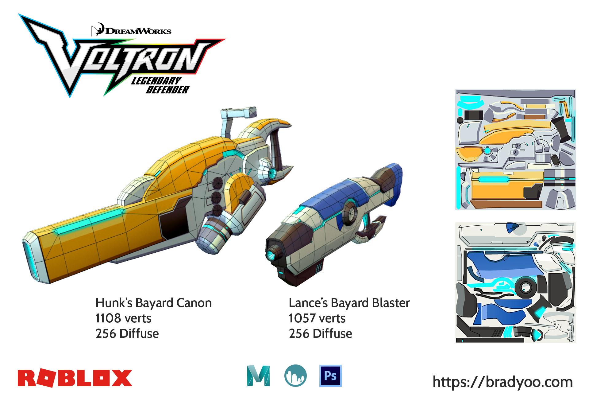 Brx yoo voltron blasters02 roblox 2017