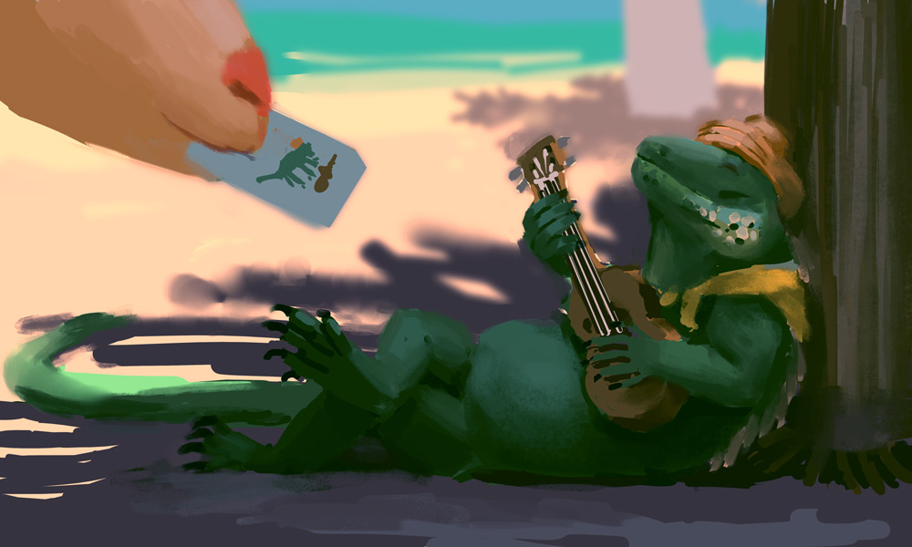 Devin platts iguana