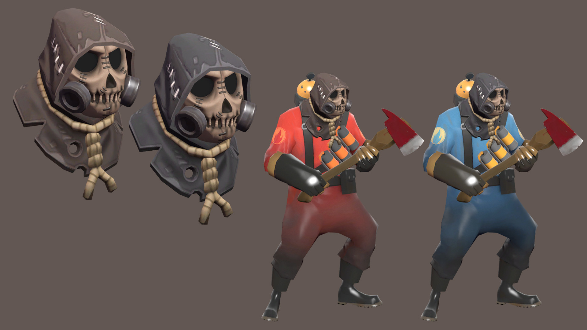 Winner Of A Contest To Create Batman Arkham Knight Crossover Items For Team Fortress 2 Winning Were Given Owners