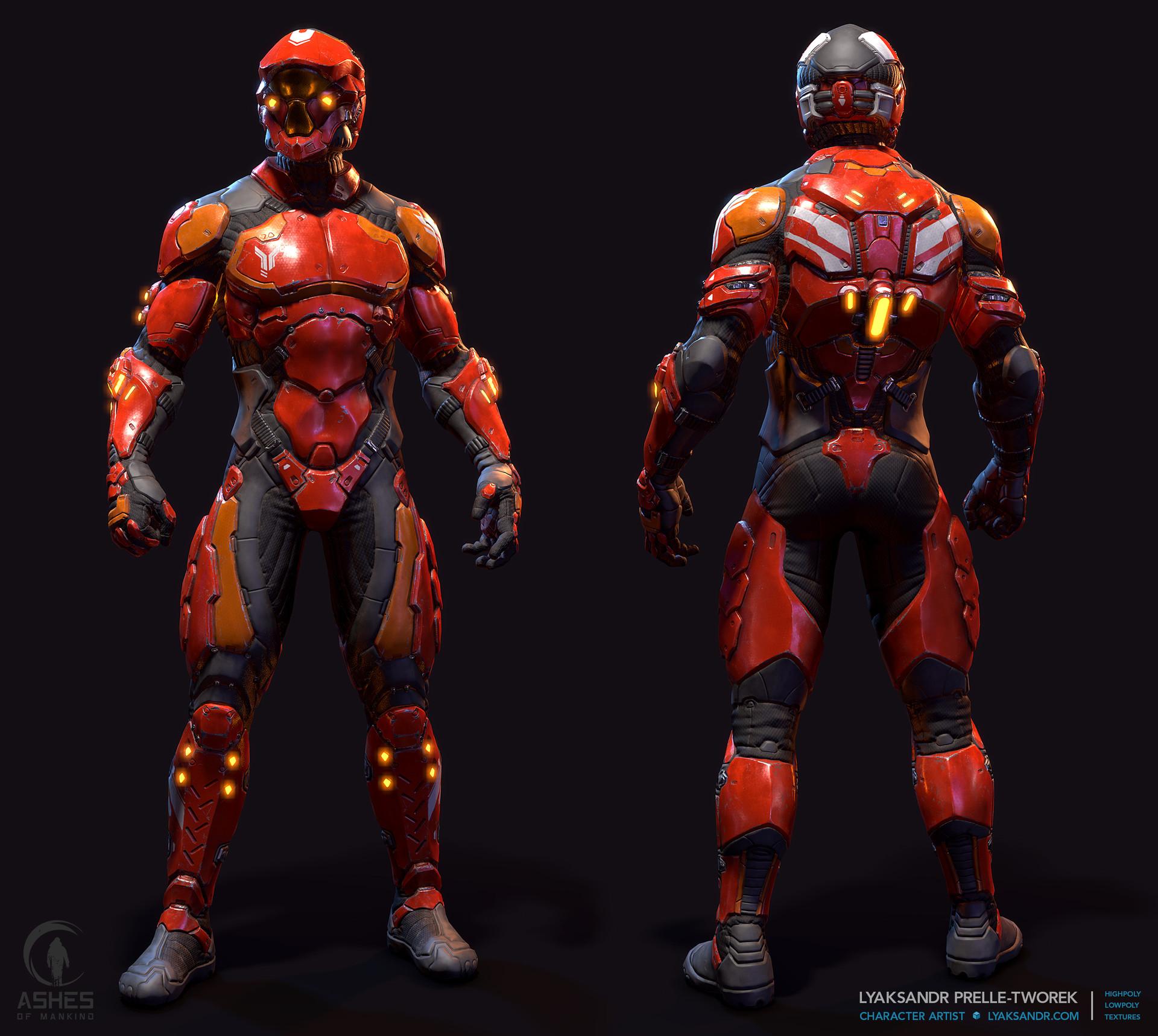 Lyaksandr prelle tworek aom eastern light armor martian marine