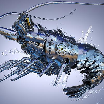 Ying te lien splash lobster
