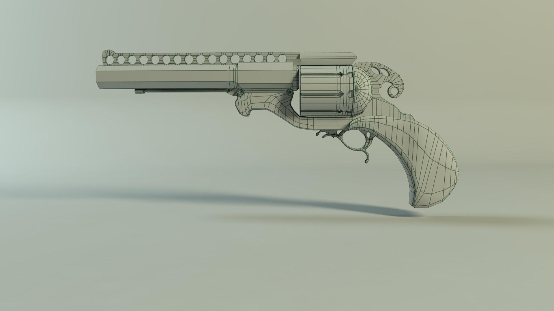 Mugisha monga pistol lp render 03