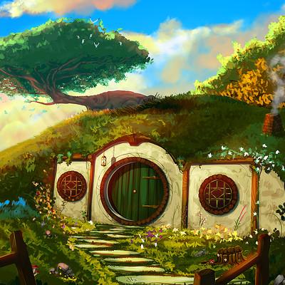 Davi hammer hobbits house low
