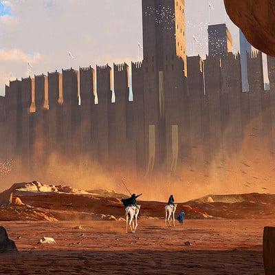 Mack sztaba desert citadel