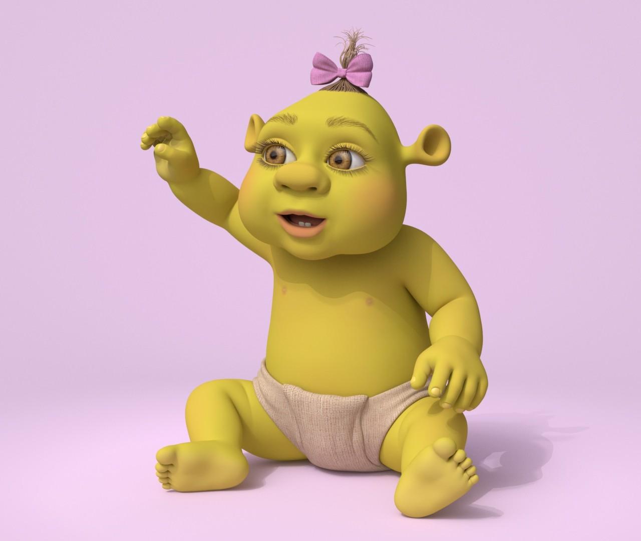 Cristian Dumitriu Ogre Baby Shrek The Third Dreamworks