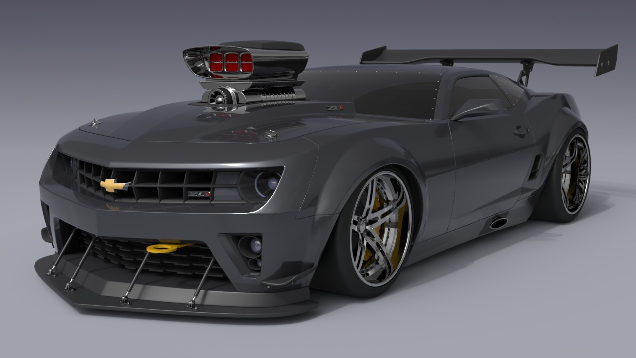 Artstation Camaro Zl1 Turbo Dreamworks Cristian