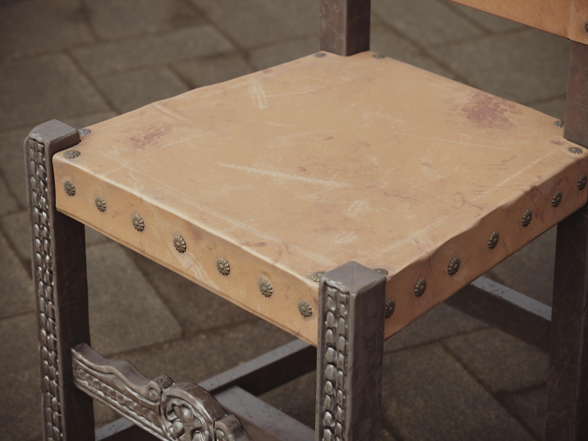 Luis santander castillan chair 2