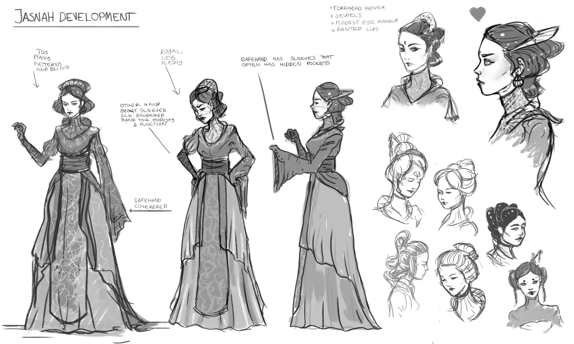 Marianne eie ma jasnah sketches01