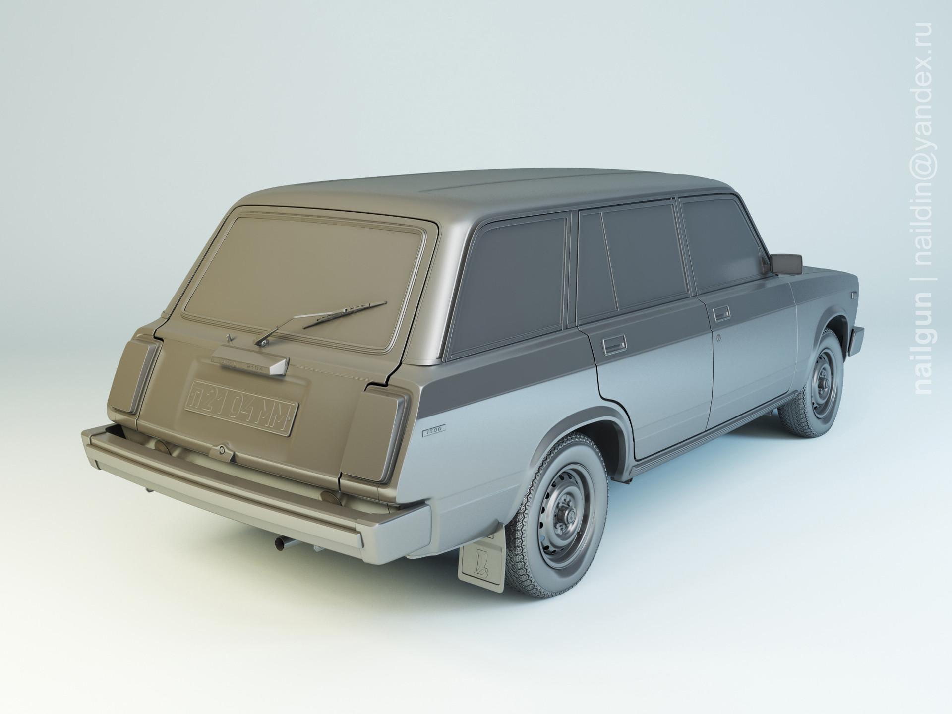Nail khusnutdinov pwc 056 003 vaz 2104 modelling 1