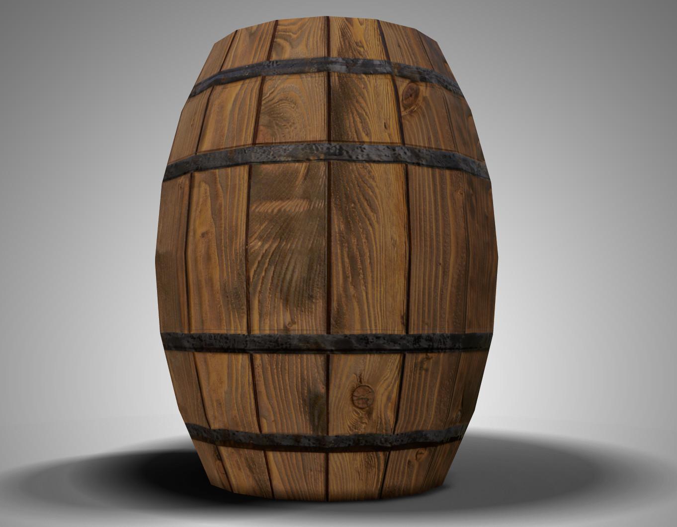 Barrel  01 - Beauty Shot