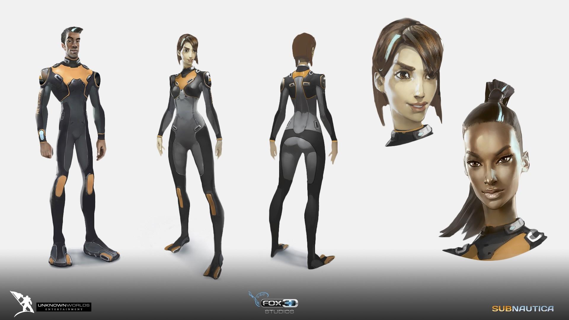 ArtStation - Subnautica  Concept Art , FOX3D ENTERTAINMENT