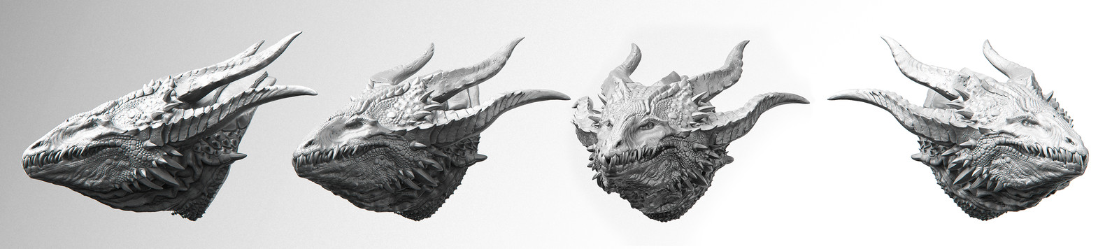 Vector Disp Dragon  - Zbrush 4r8 Beta