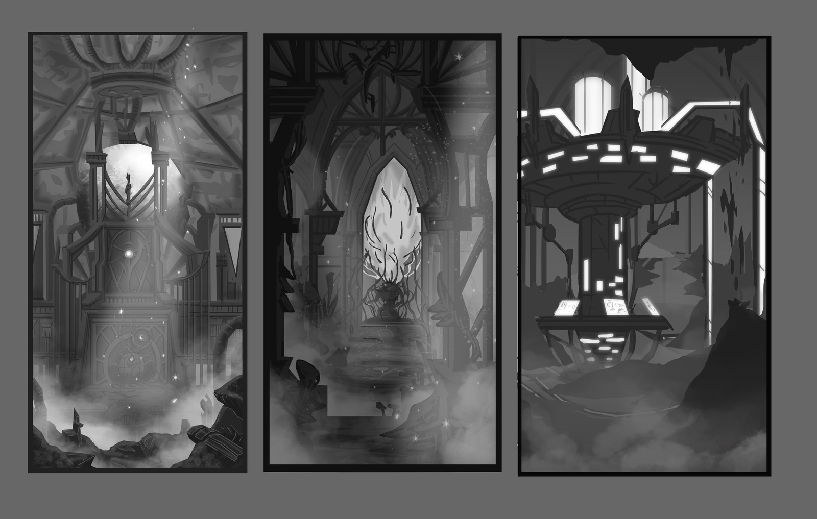 Before the change. exploration thumbnails.