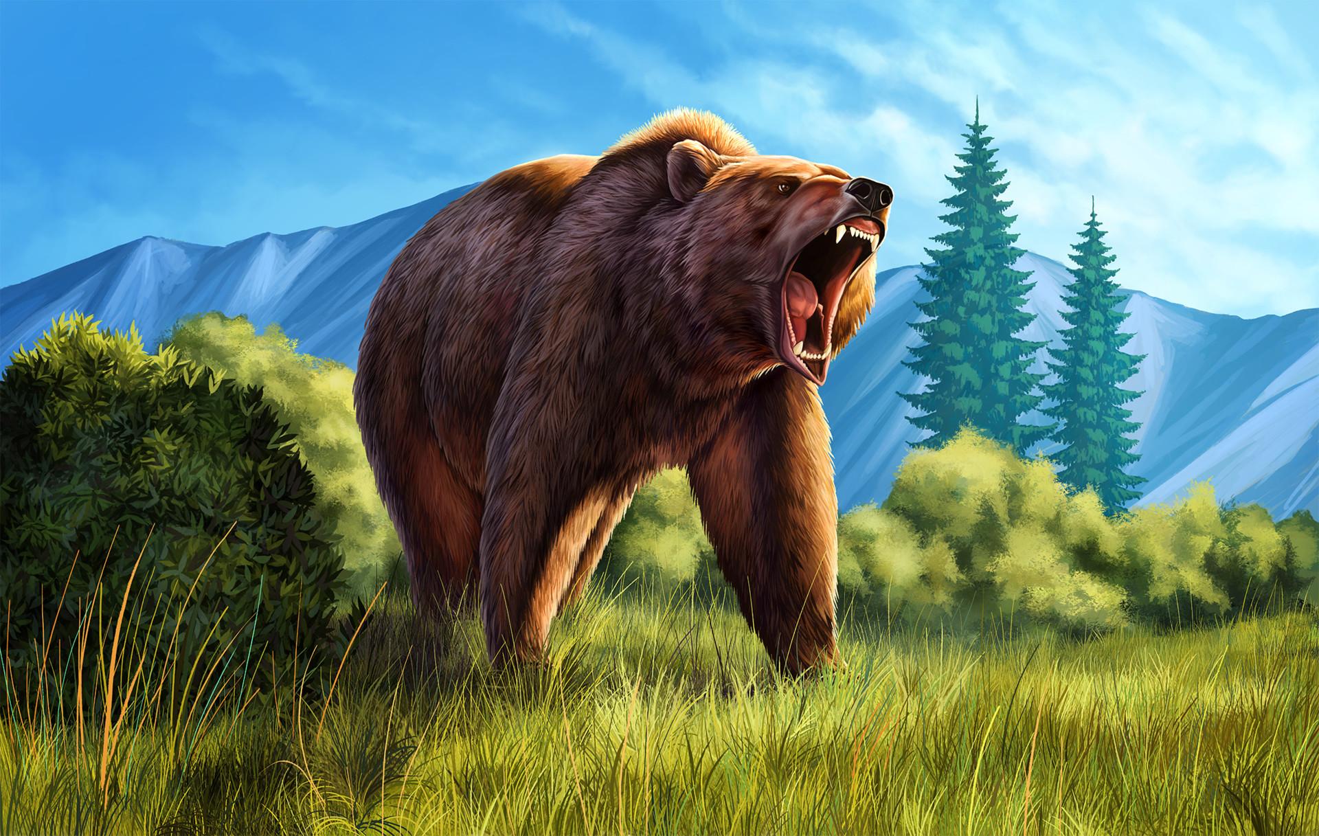 Martina nachazelova roaring grizzly
