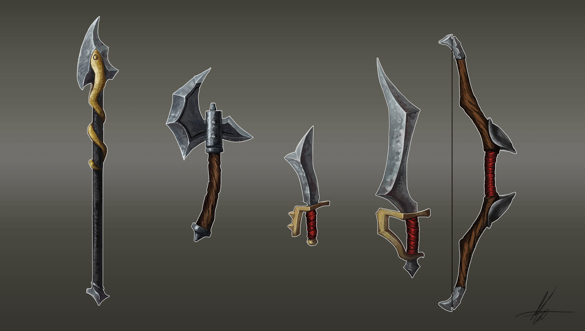Matthew cartwright weapons