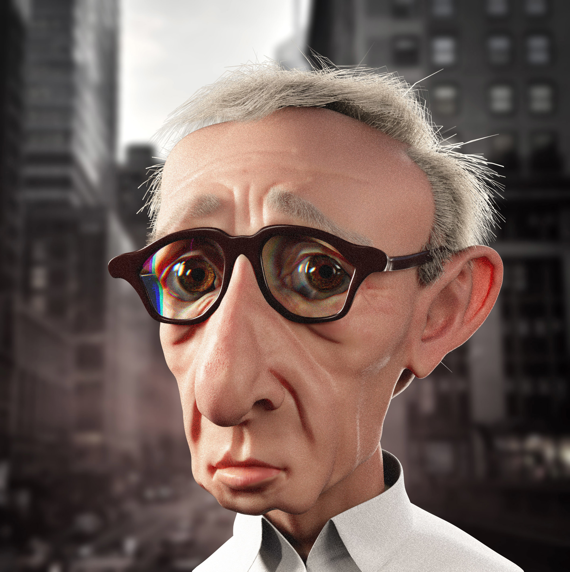 Barry mccarthy woody allen caricature