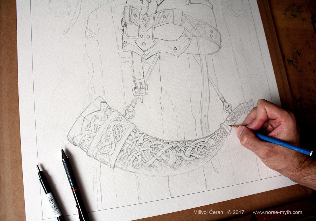 """Vikings Lore"" © Milivoj Ćeran 2017.