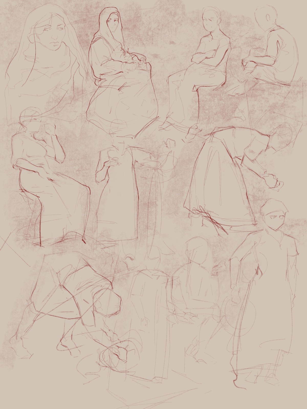 some sketches to figure things out