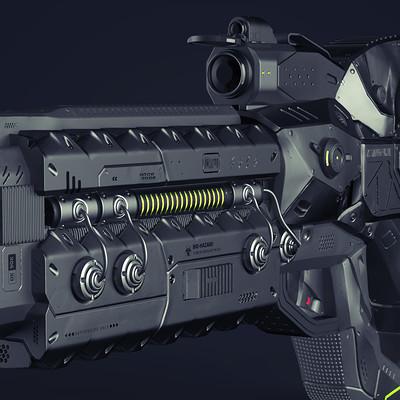Snehal s gopal gun darkplane anglefront