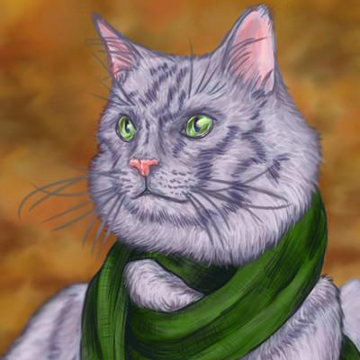 Katie pylman scarfcat1 2