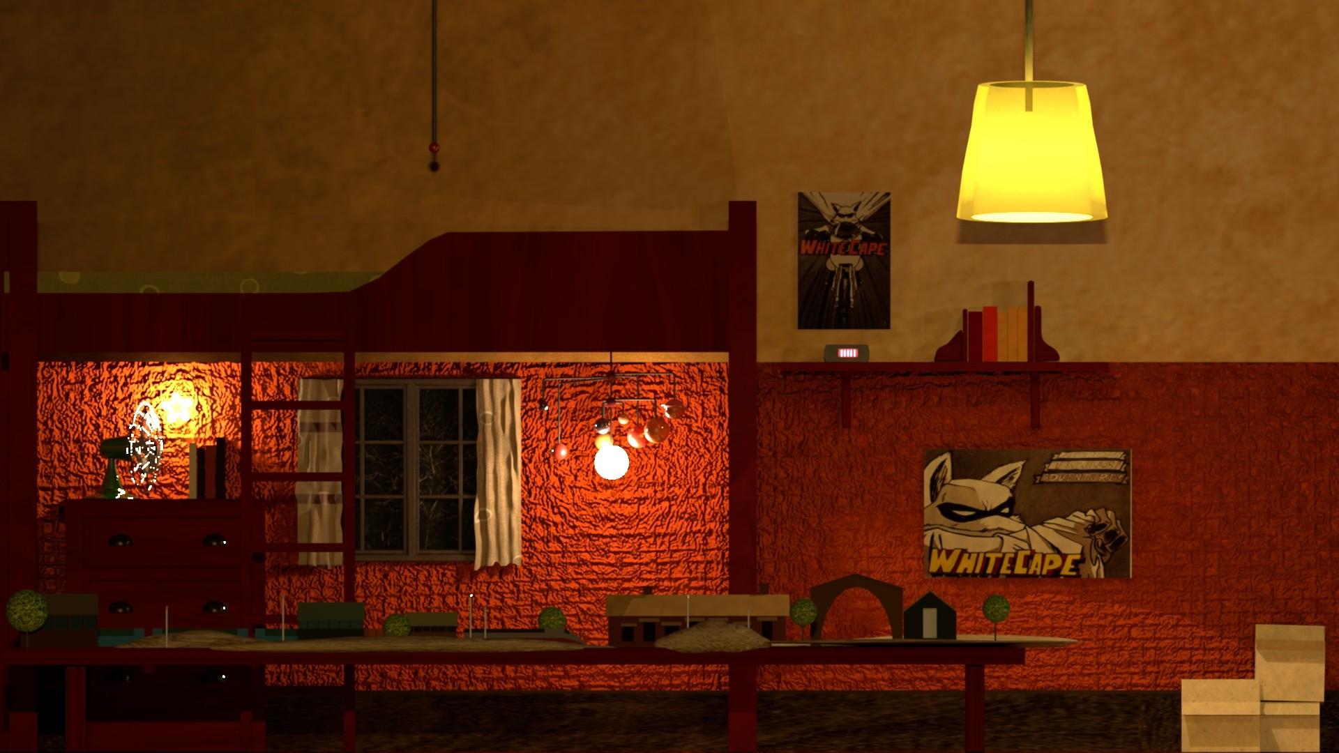 Artstation Render Of Ash Room S Fantastic Mr Fox Maya Leon Castellanos
