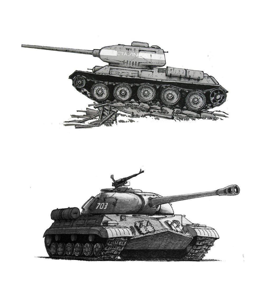 Qiao chen tank2