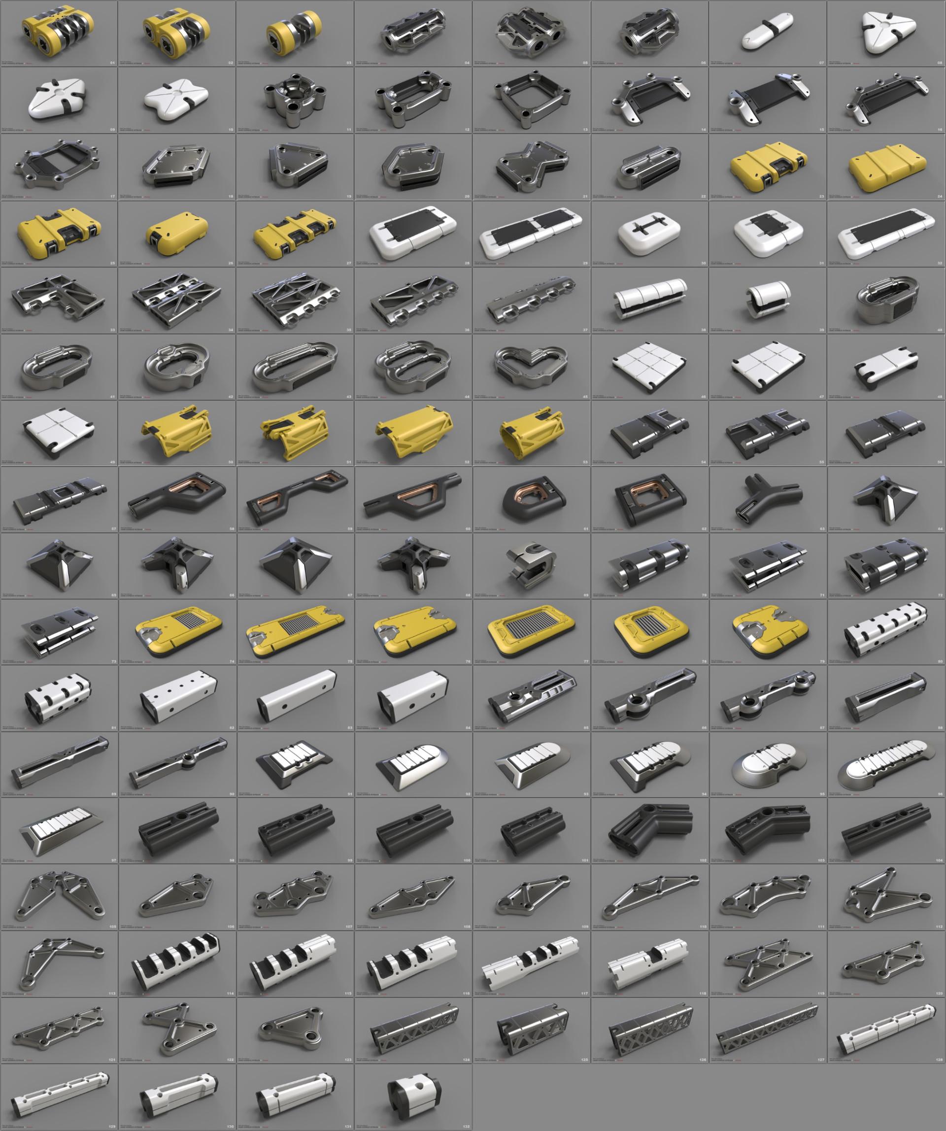 Mark van haitsma panel icon collage