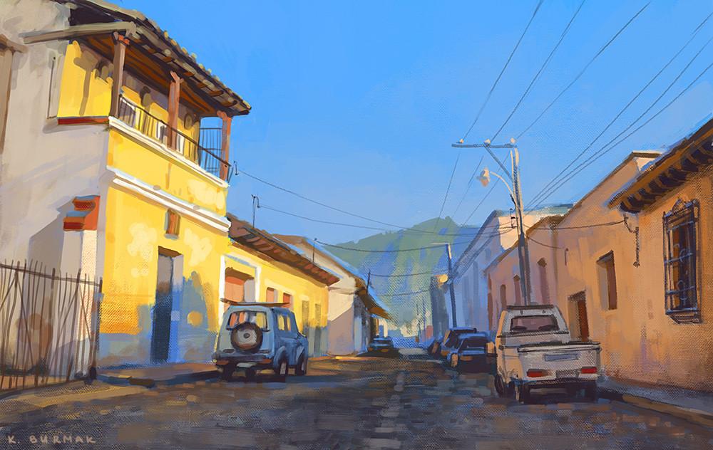Ekaterina burmak yellow street
