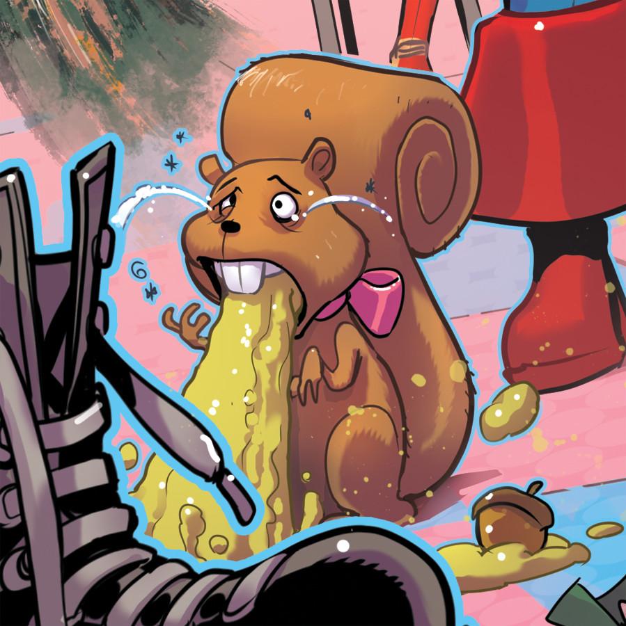 Hurling squirrel detail :D