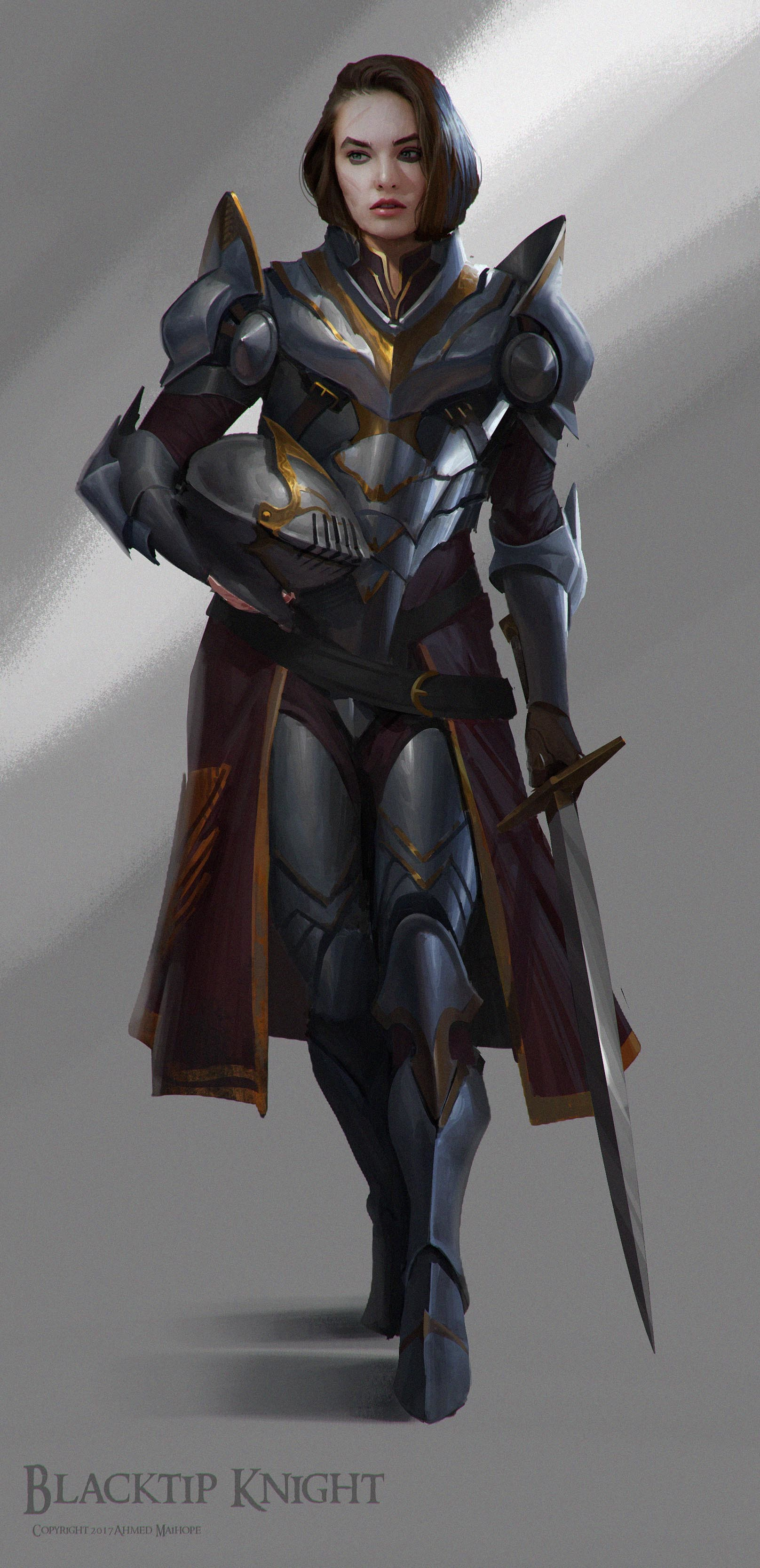 Blacktip Knight by Ahmed Maihope