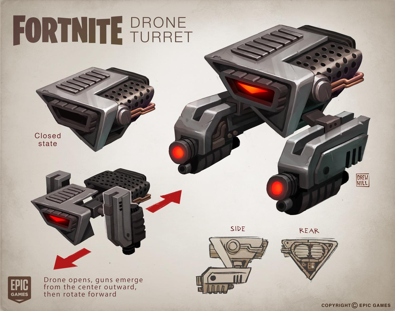 ArtStation - Fortnite Concepts, Drew Hill