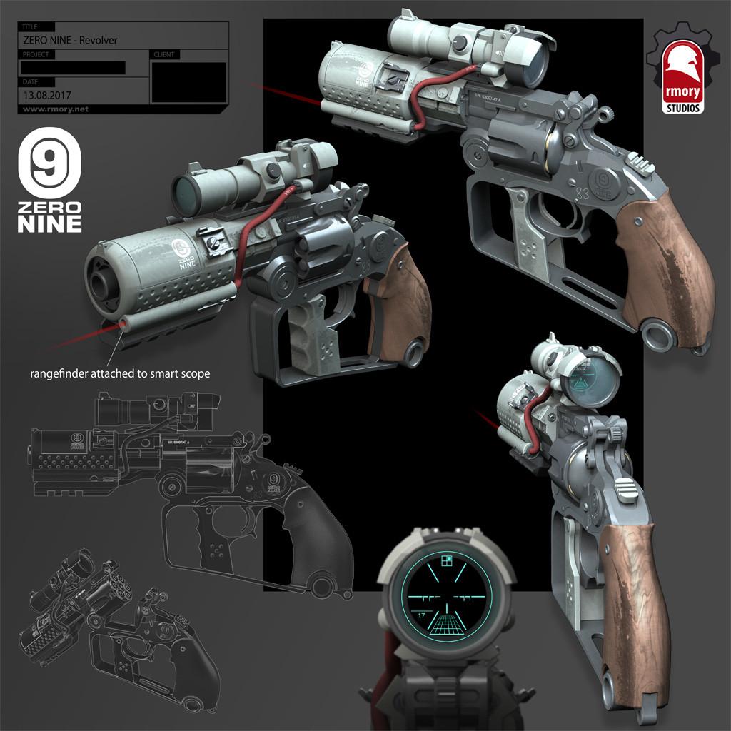 ZERO NINE Revolver - rmory studios