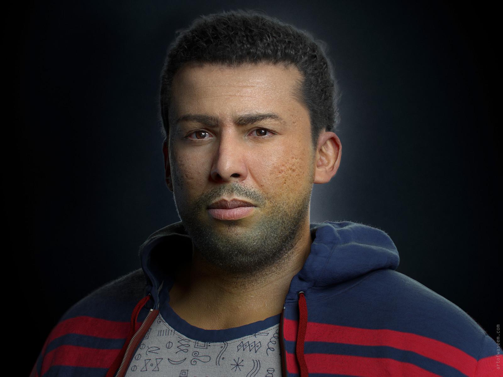 Portrait of Kareem Sultan