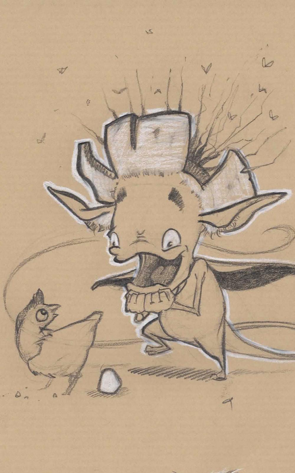 critter Smile positif 5 sketch