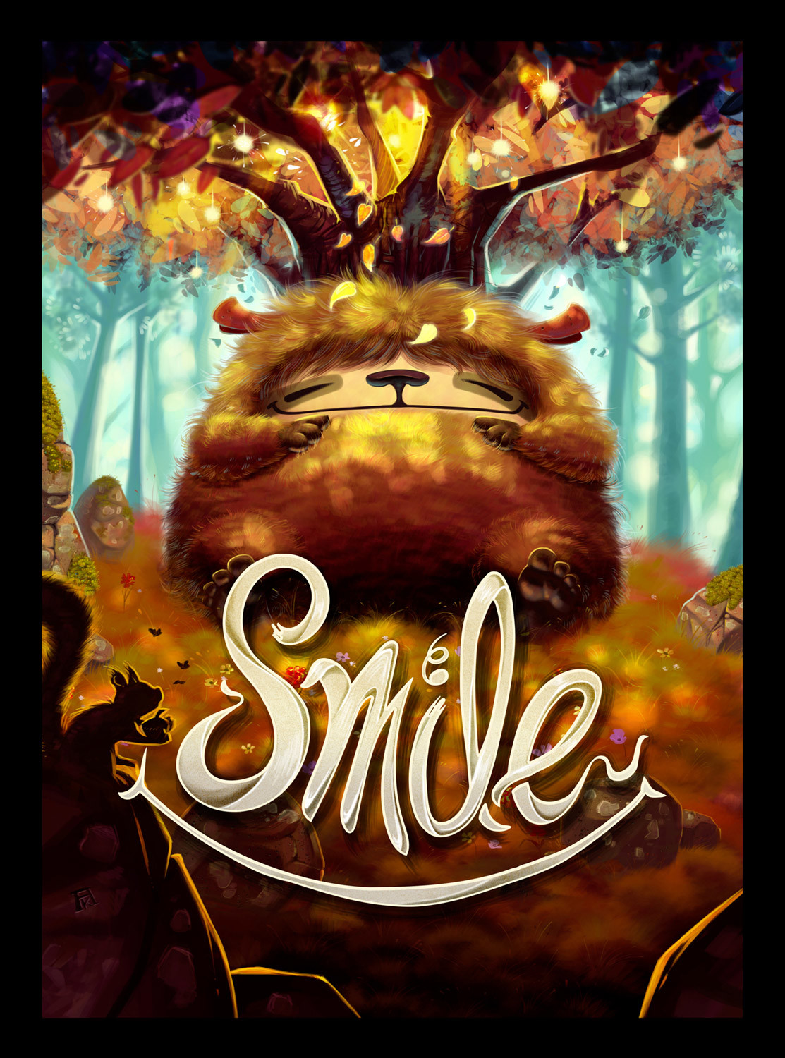 Cover (and logo by philippe Guérin) for SMILE, Z-Man Games
