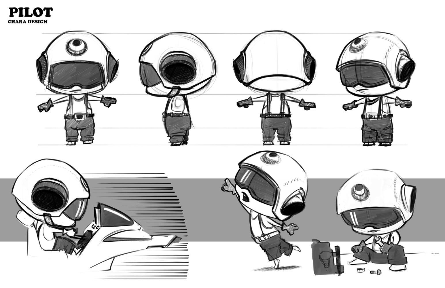 Atha kanaani character concept sheet pilot