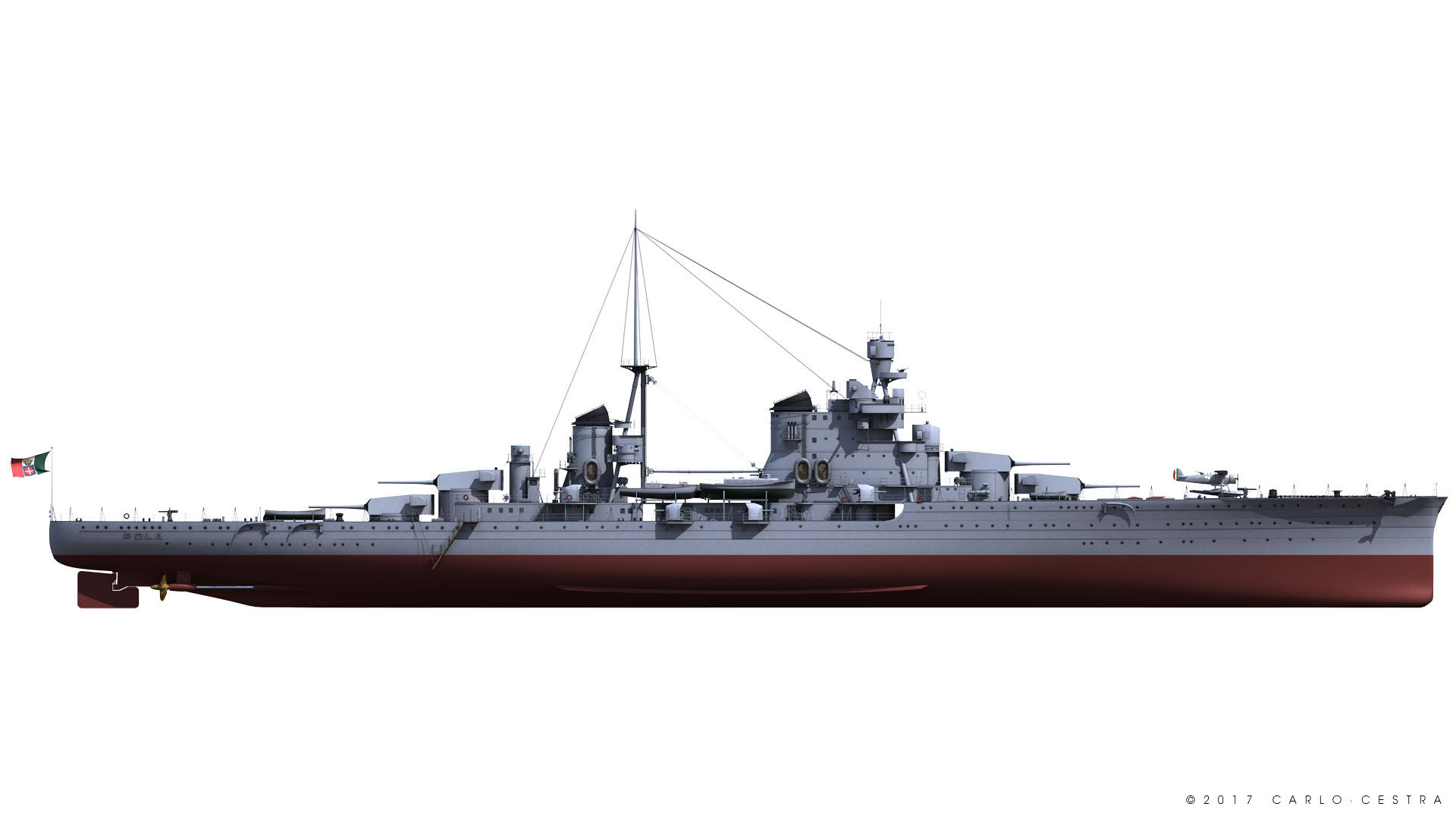 Carlo cestra carlo cestra starboard side 1941